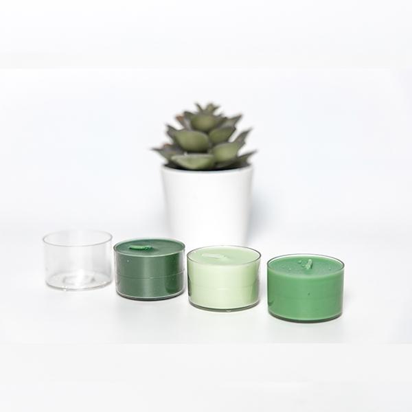 PC14透明塑料蜡烛壳